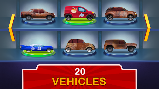 Kids Garage: Car & Truck Repair Games for Kids Fun  screenshots 3