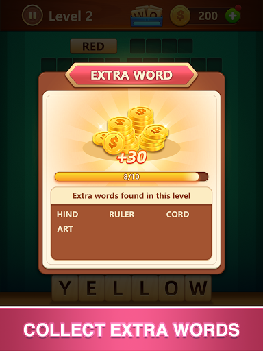 Word Fall - Brain training search word puzzle game 3.1.0 screenshots 14