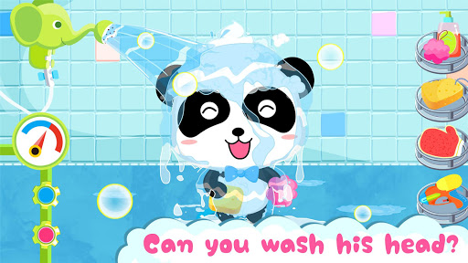 Baby Panda's Bath Time modavailable screenshots 4