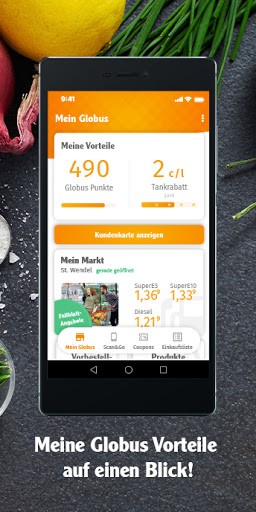Mein Globus – Kundenkarte & Gutscheine 3.1.11 screenshots 1