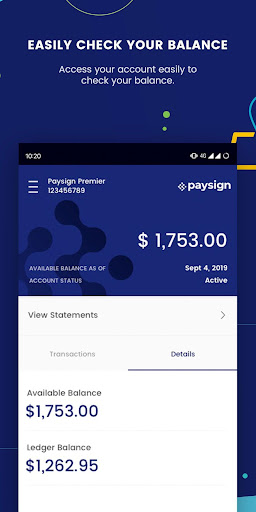 Paysign By Paysign Inc Google Play United States Searchman App Data Information