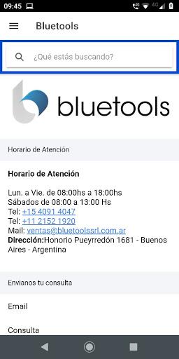 Bluetools screenshot 1