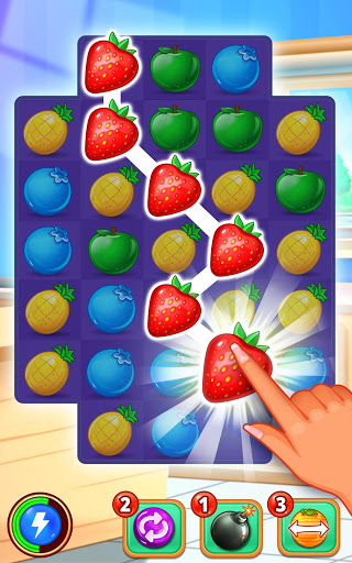 Gummy Paradise - Free Match 3 Puzzle Game 1.6.1 screenshots 1