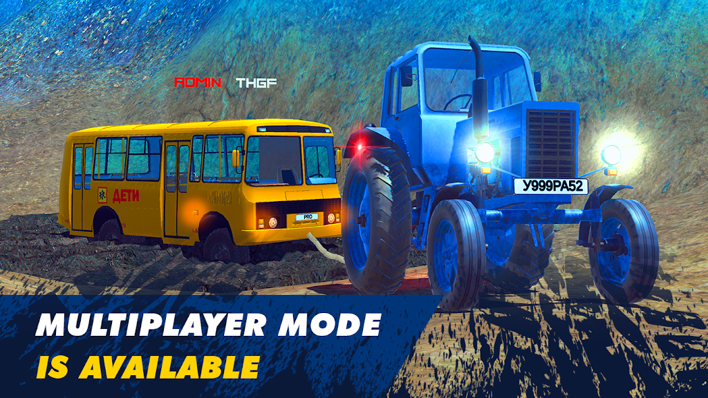 Offroad Simulator Online: 8x8 & 4x4 off road rally  poster 2