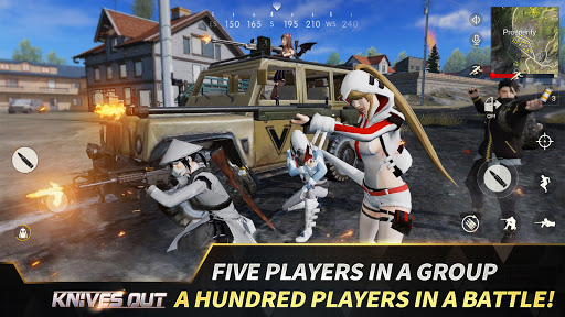Knives Out-No rules, just fight!  APK MOD (Astuce) screenshots 2