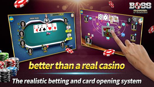 Boss Poker u2013 Texas Holdem Blackjack Baccarat  screenshots 5