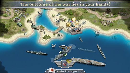 1942 Pacific Front – a WW2 Strategy Mod Apk (Unlimited Gold Coins) 6
