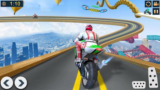 Bike Stunts Race 2021: Free Moto Bike Racing Games apkdebit screenshots 1