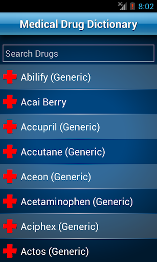 Drugs Dictionary Offline: FREE 2.0 Screenshots 1