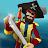 Pirates Island on Caribbean Sea Polygon