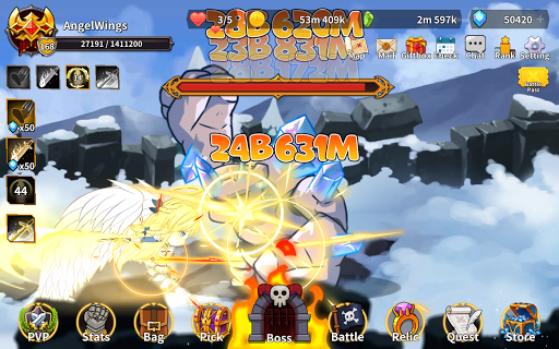 Raising Archangel: AFK Angel Adventure apkdebit screenshots 13