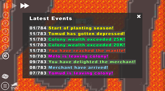 Going Deeper! – Colony Building Sim 0.3.12c 4