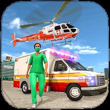 Ambulance Rescue Driving Simulator: Hospital Games APK
