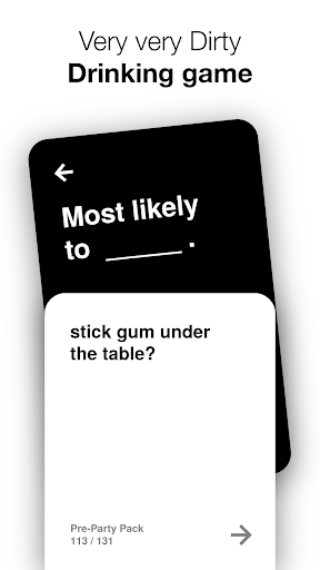 Most Likely To: Drinking Game  screenshots 1
