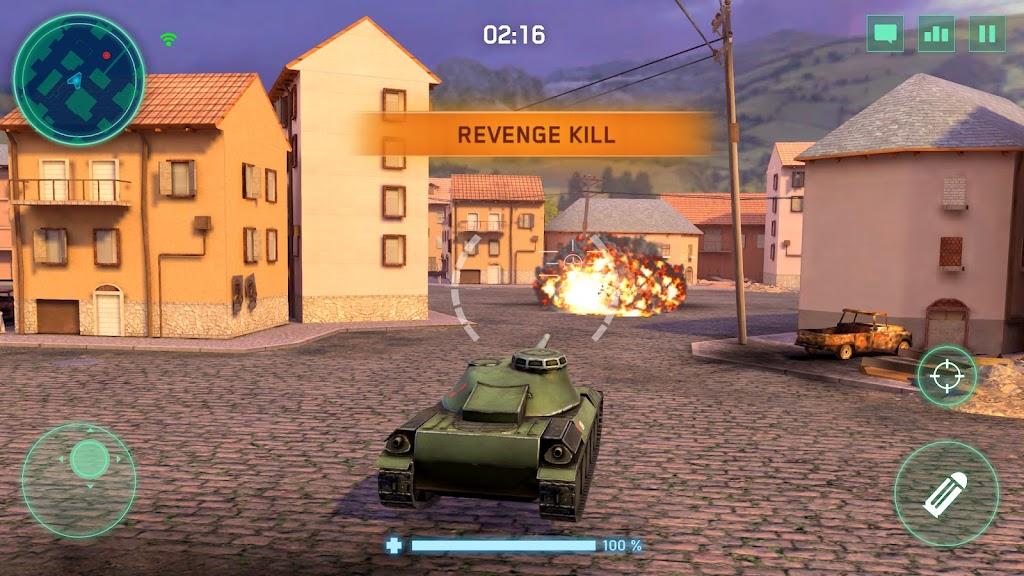 War Machines: Tank Army Game poster 3