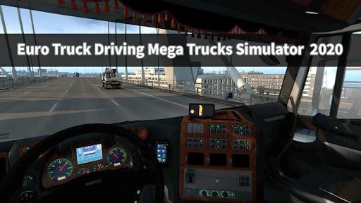 Euro Truck Driving Mega Trucks Simulator  2020 android2mod screenshots 7