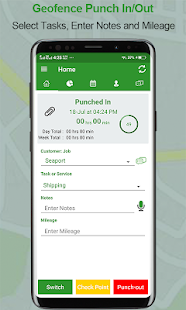Employee Time Clock w/ GPS, Scheduling & Messaging