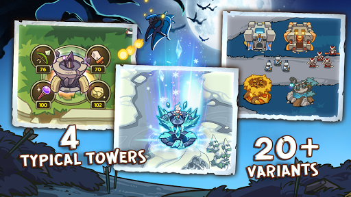 Empire Defender TD: Tower Defense The Fantasy War Varies with device screenshots 6