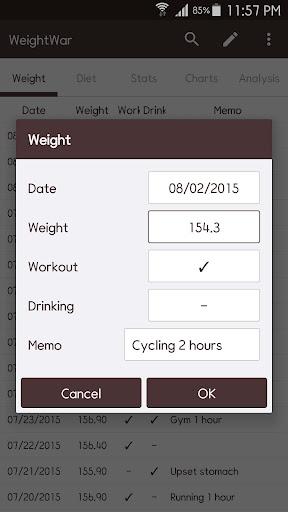 Foto do WeightWar - Weight Tracker