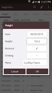 WeightWar - Weight Loss Screenshot