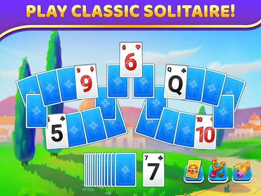 Puzzle Solitaire - Tripeaks Escape with Friends apkpoly screenshots 6