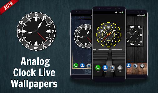 Analog Clock Live Wallpaper 2020 4K Backgrounds HD 1.0