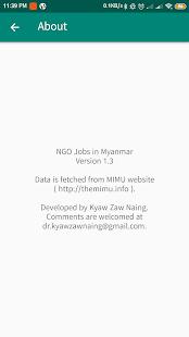 ミャンマーでのNGOの仕事