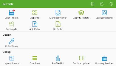 Dev Tools(Android Developer Tools) - Device Info screenshot thumbnail