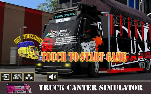 Truck Canter Simulator Indonesia 2021 - Anti Gosip 1.3 screenshots 3