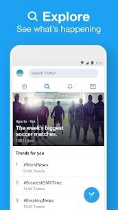 تحميل تويتر لايت للاندرويد APK احدث اصدار Twitter Lite 4