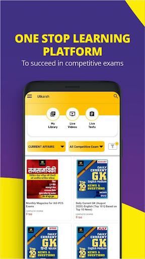 Utkarsh App :  Your Smart E - Learning Solution  screenshots 2