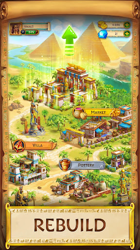 Jewels of Egypt: Match Game apklade screenshots 2