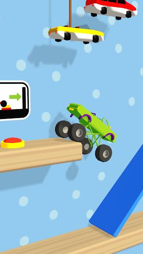 Folding Car puzzle games: fun racing car simulator  screenshots 2