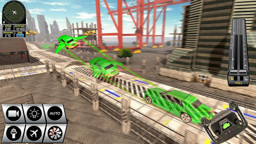 Futuristic Flying Car Racer screenshots 8