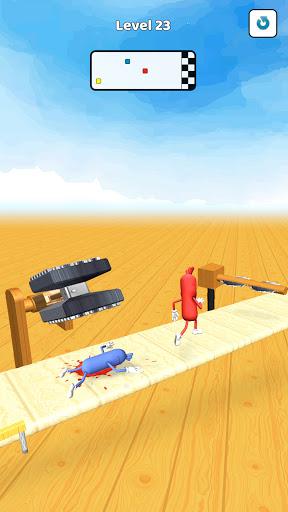 Wacky Sausage Game 2021: Fun Run Game 4 screenshots 3