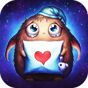 Booboo : Cute little monster Live Wallpaper free