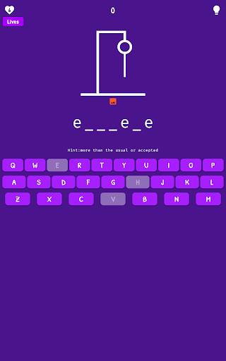 Hangman - Word Game 1.0.2.8 screenshots 12