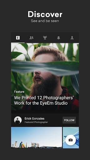 EyeEm: Free Photo App For Sharing & Selling Images 8.5.2 screenshots 1