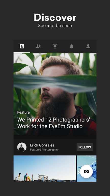 EyeEm: Free Photo App For Sharing & Selling Images  poster 0