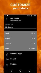 Tabata HIIT. Interval Timer v2.33 [Premium] [Mod] 4