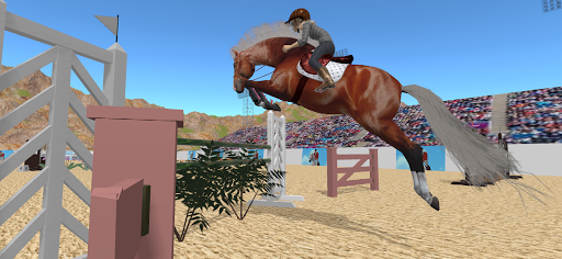 Jumpy Horse Show Jumping screenshots 1