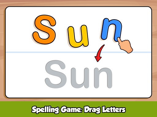 ABC Kids Games - Phonics to Learn alphabet Letters screenshots 7