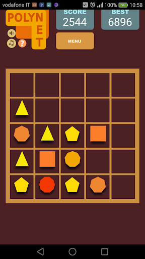 Polynet :  poligonal puzzle game 1.19 screenshots 2