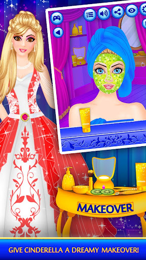 Cinderella Beauty Makeover : Princess Salon 1.8 screenshots 10