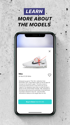 Wanna Kicks : AR sneakers try on  Screenshots 5