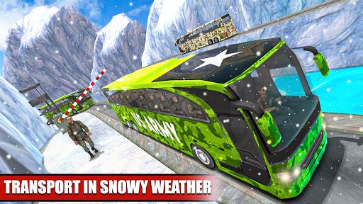 Army Bus Driver u2013 US Military Coach Simulator 3D apktram screenshots 9
