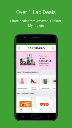 EarnKaro - Share Deals & Earn Money from Home 2.0 Screenshots 3