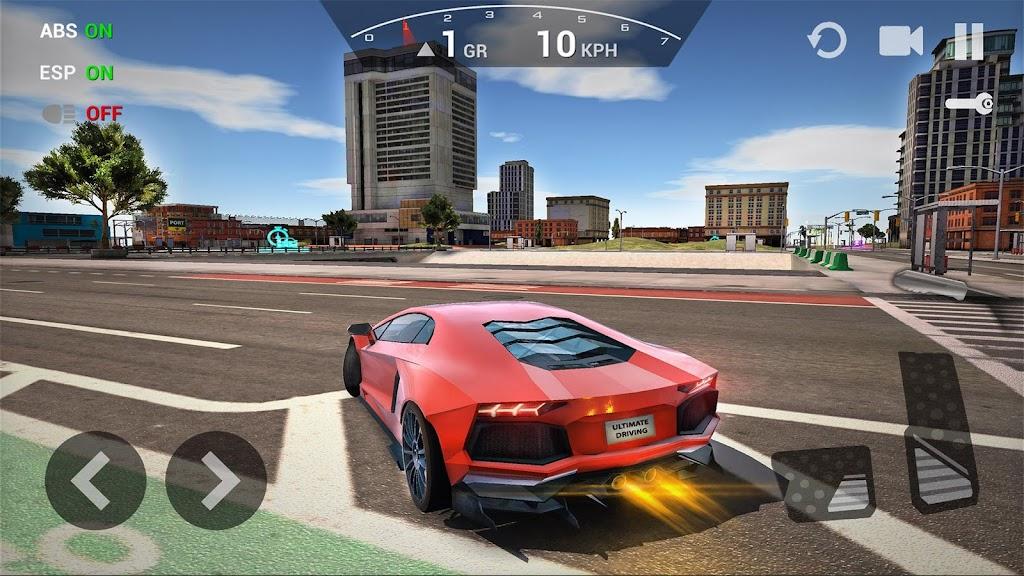 Ultimate Car Driving Simulator poster 0