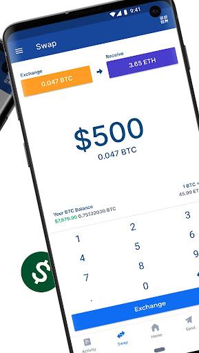 Blockchain Wallet: Buy and Sell Bitcoin & Crypto 8.0.2 Screenshots 5