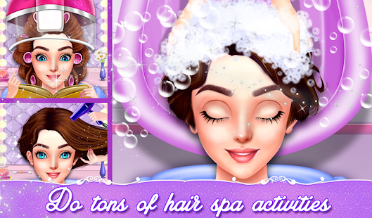 Indian Wedding Hair Do Designs: Girls Hair Salon